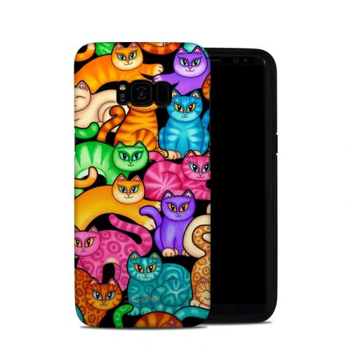 Colorful Kittens Samsung Galaxy S8 Plus Hybrid Case