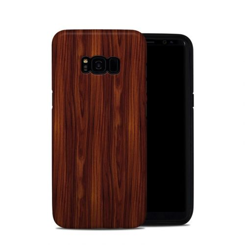 Dark Rosewood Samsung Galaxy S8 Plus Hybrid Case