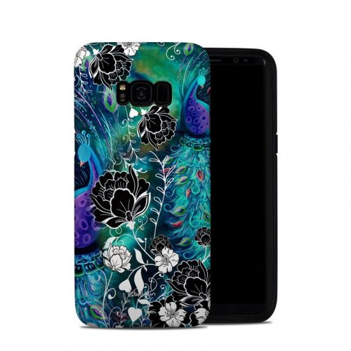 Peacock Garden Samsung Galaxy S8 Plus Hybrid Case