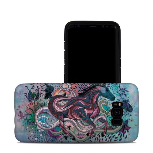 Poetry in Motion Galaxy S8 Plus Hybrid Case