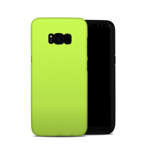 Solid State Lime Galaxy S8 Plus Hybrid Case