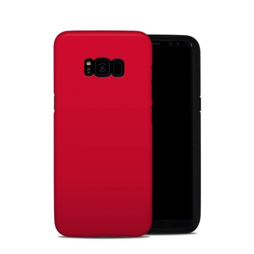 Solid State Red Samsung Galaxy S8 Plus Hybrid Case