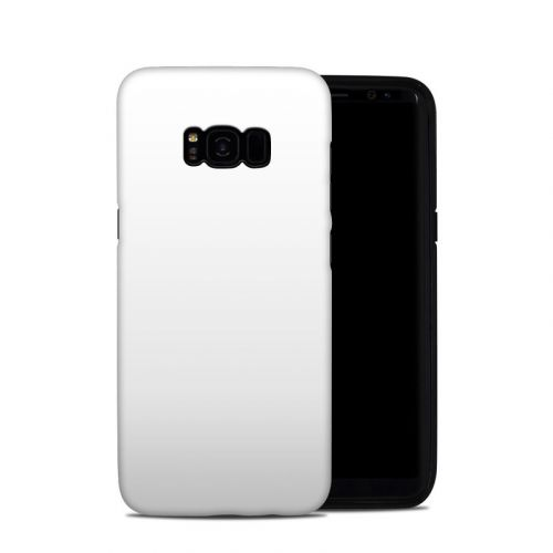 Solid State White Samsung Galaxy S8 Plus Hybrid Case