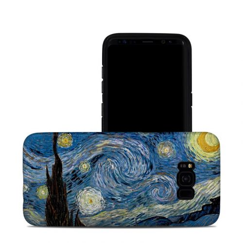 Starry Night Galaxy S8 Plus Hybrid Case