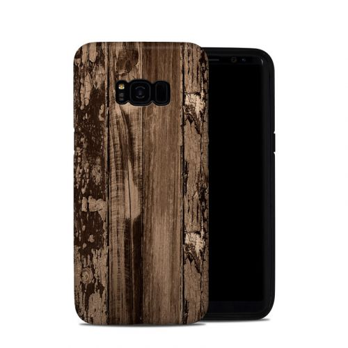 Weathered Wood Galaxy S8 Plus Hybrid Case
