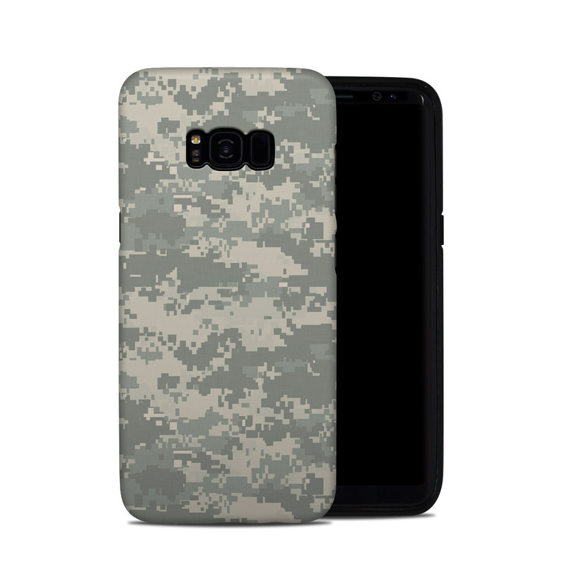 Samsung Galaxy S8 Plus Hybrid Case design of Military camouflage, Green, Pattern, Uniform, Camouflage, Design, Wallpaper with gray, green colors