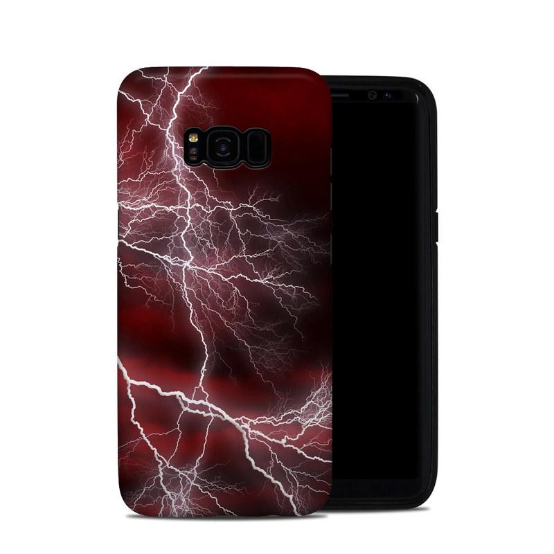 Apocalypse Red Galaxy S8 Plus Hybrid Case