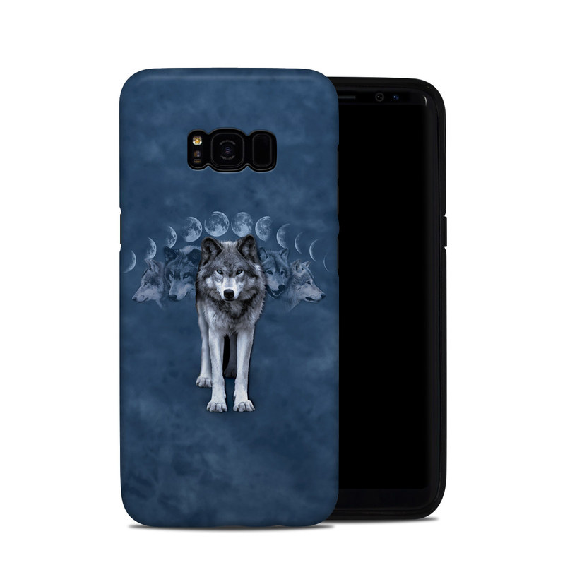 Wolf Cycle Samsung Galaxy S8 Plus Hybrid Case