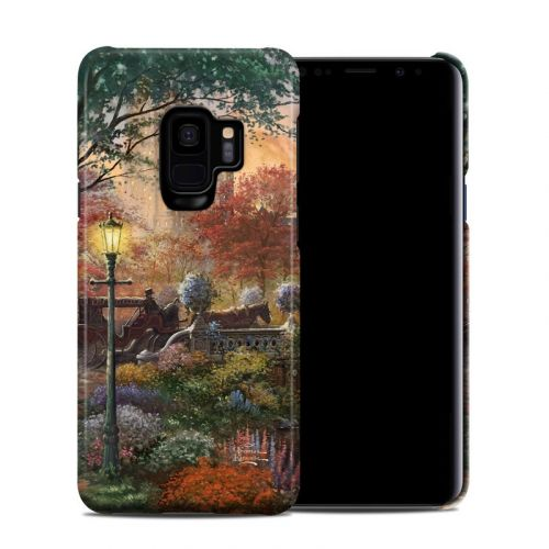Autumn in New York Samsung Galaxy S9 Clip Case