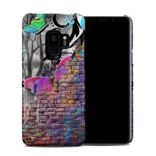 Butterfly Wall Samsung Galaxy S9 Clip Case