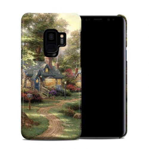 Hometown Lake Samsung Galaxy S9 Clip Case