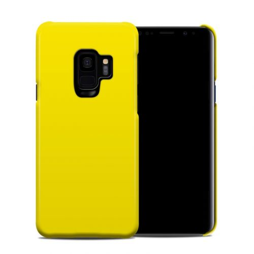 Solid State Yellow Samsung Galaxy S9 Clip Case