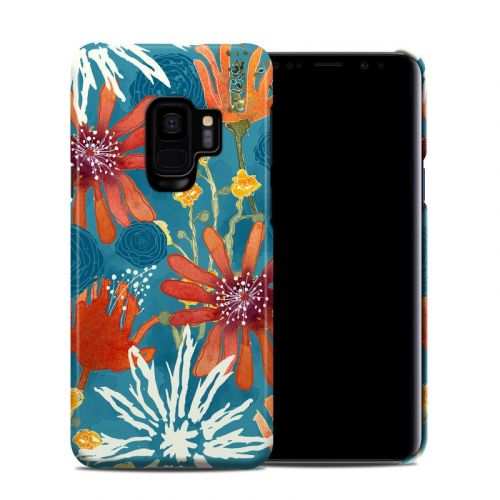 Sunbaked Blooms Samsung Galaxy S9 Clip Case