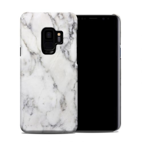 White Marble Samsung Galaxy S9 Clip Case