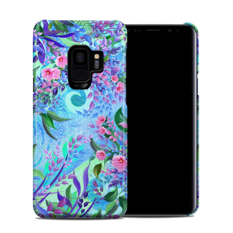 Samsung Galaxy S9 Clip Case design of Psychedelic art, Pattern, Lilac, Purple, Art, Pink, Design, Fractal art, Visual arts, Organism with gray, blue, purple colors
