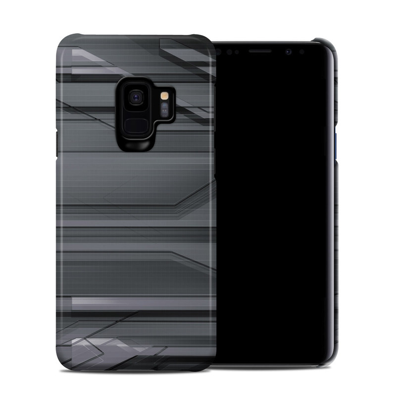 Samsung Galaxy S9 Clip Case design of Black, Monochrome, Line, Architecture, Black-and-white, Design, Pattern, Sky, Automotive design, Ceiling with black, gray colors