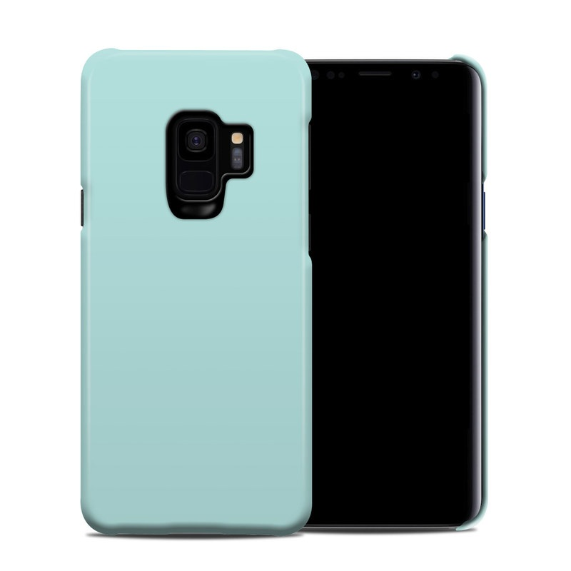 Samsung Galaxy S9 Clip Case design of Green, Blue, Aqua, Turquoise, Teal, Azure, Text, Daytime, Yellow, Sky with blue colors