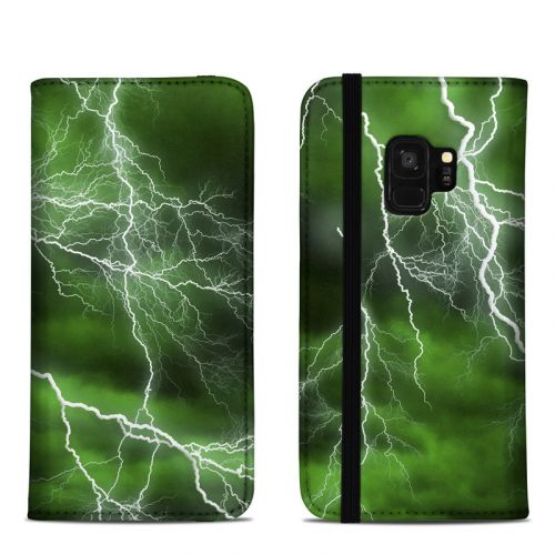 Apocalypse Green Samsung Galaxy S9 Folio Case