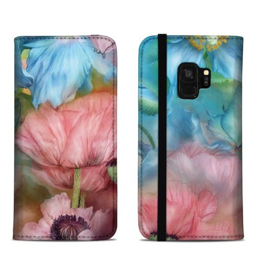 Poppy Garden Samsung Galaxy S9 Folio Case