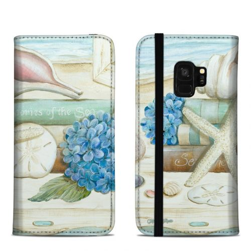 Stories of the Sea Samsung Galaxy S9 Folio Case