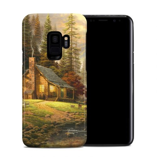 A Peaceful Retreat Samsung Galaxy S9 Hybrid Case