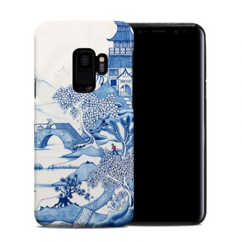 Blue Willow Samsung Galaxy S9 Hybrid Case