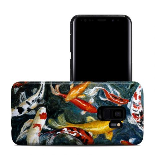 Koi's Happiness Samsung Galaxy S9 Hybrid Case