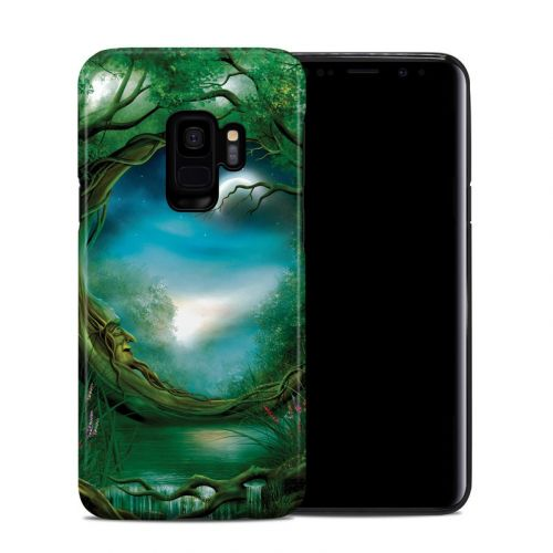 Moon Tree Samsung Galaxy S9 Hybrid Case
