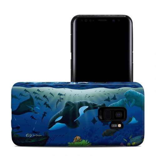 Oceans For Youth Samsung Galaxy S9 Hybrid Case