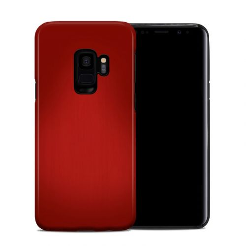 Red Burst Samsung Galaxy S9 Hybrid Case