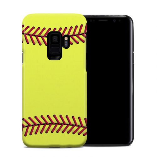 Softball Samsung Galaxy S9 Hybrid Case