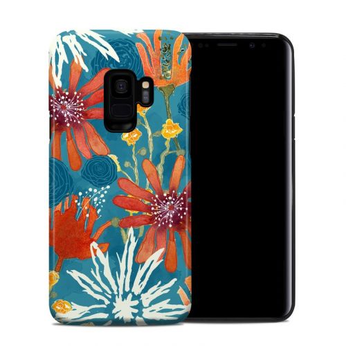 Sunbaked Blooms Samsung Galaxy S9 Hybrid Case