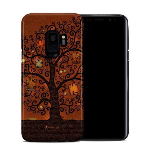 Tree Of Books Samsung Galaxy S9 Hybrid Case