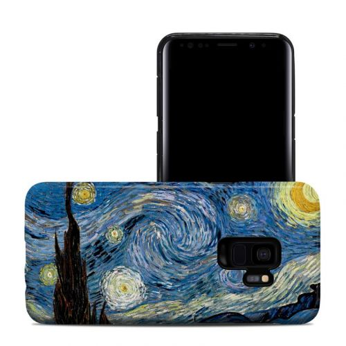 Starry Night Samsung Galaxy S9 Hybrid Case