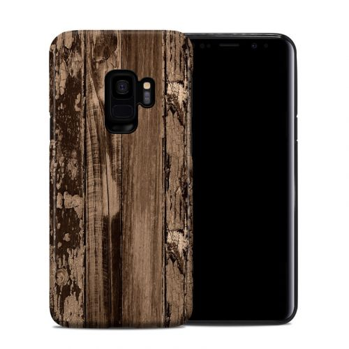 Weathered Wood Samsung Galaxy S9 Hybrid Case