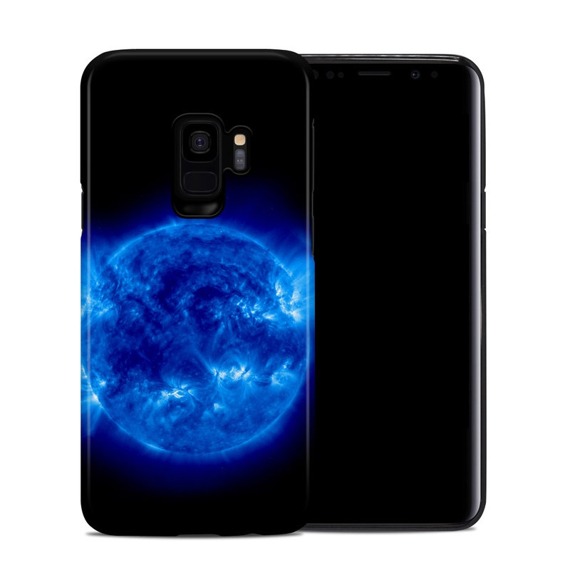 Samsung Galaxy S9 Hybrid Case design of Blue, Astronomical object, Outer space, Atmosphere, Electric blue, Earth, Planet, Water, Space, Universe with blue, black colors