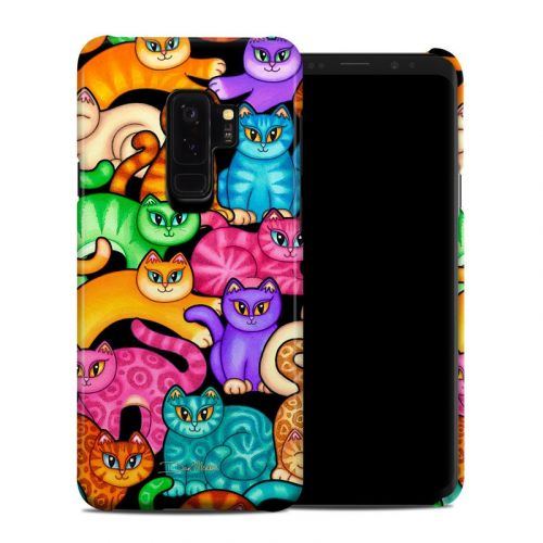 Colorful Kittens Samsung Galaxy S9 Plus Clip Case