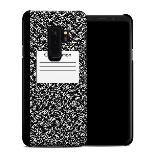 Composition Notebook Samsung Galaxy S9 Plus Clip Case