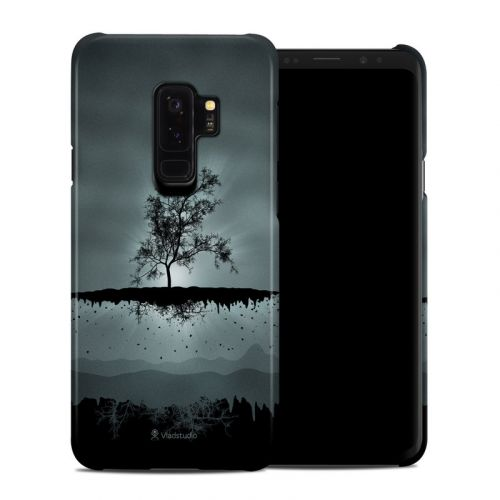 Flying Tree Black Samsung Galaxy S9 Plus Clip Case