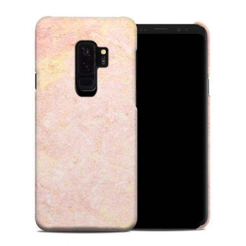 Rose Gold Marble Samsung Galaxy S9 Plus Clip Case