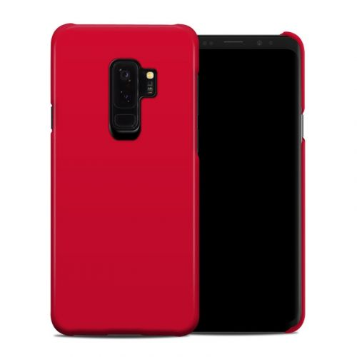 Solid State Red Samsung Galaxy S9 Plus Clip Case