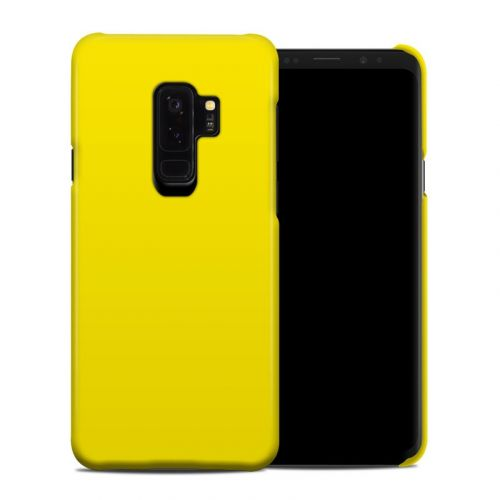 Solid State Yellow Samsung Galaxy S9 Plus Clip Case