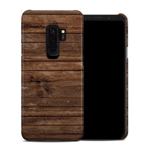 Stripped Wood Samsung Galaxy S9 Plus Clip Case