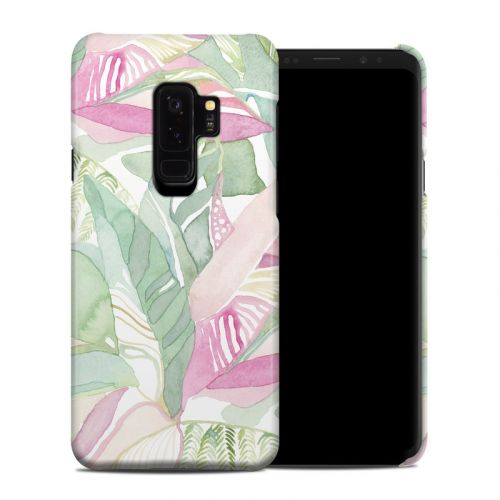Tropical Leaves Samsung Galaxy S9 Plus Clip Case