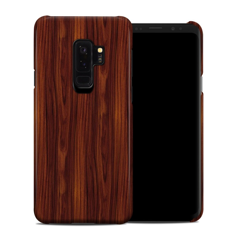 Dark Rosewood Samsung Galaxy S9 Plus Clip Case