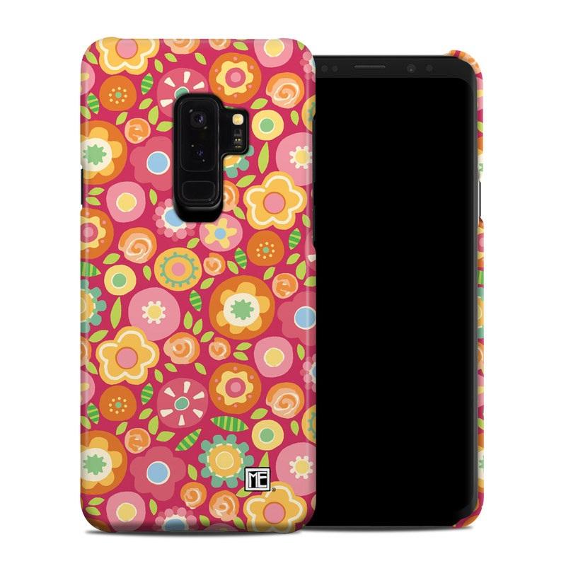 Samsung Galaxy S9 Plus Clip Case design of Orange, Pattern, Design, Circle with red, pink, green, gray, orange, purple colors