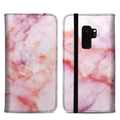 Blush Marble Samsung Galaxy S9 Plus Folio Case