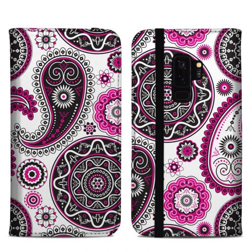 Boho Girl Paisley Samsung Galaxy S9 Plus Folio Case