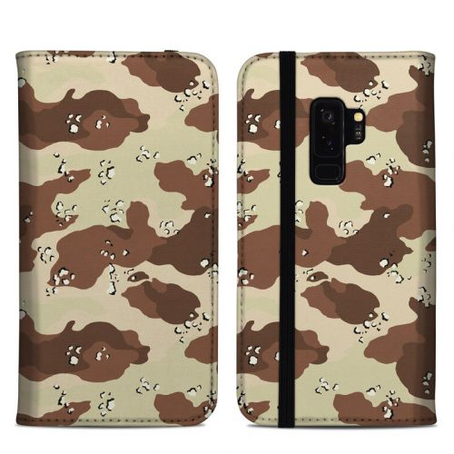 Desert Camo Samsung Galaxy S9 Plus Folio Case