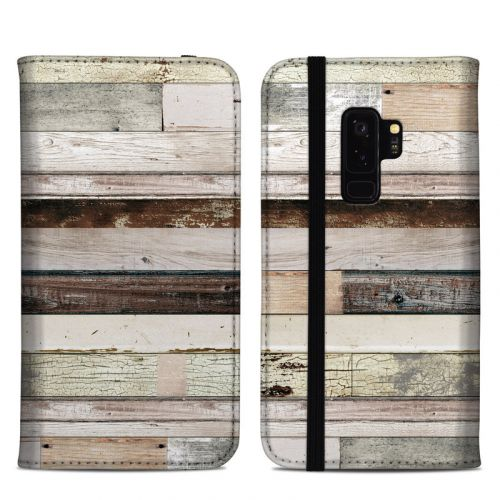 Eclectic Wood Samsung Galaxy S9 Plus Folio Case